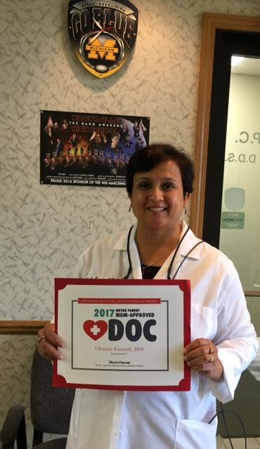 Dr. Karanth best dentist in Farmington Hills
